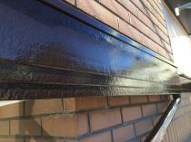 横浜市神奈川区H様邸幕板塗装施工完了