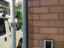 横浜市神奈川区H様邸雨樋塗装前