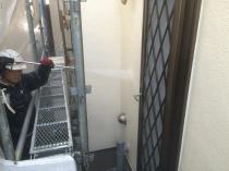 横浜市神奈川区H様邸外壁塗装前高圧洗浄