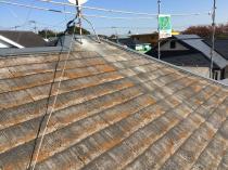 横浜市神奈川区H様邸サーモアイSI屋根塗装前