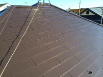 横浜市神奈川区H様邸サーモアイSI屋根塗装施工完了