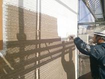 横浜市西区O様邸外壁塗装下塗り