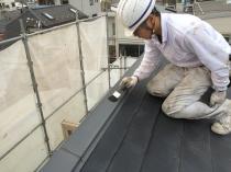 屋根 清掃 塗装前 リフォーム 住宅 横浜市 西区