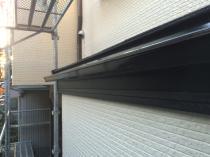 横浜市西区O様邸雨樋塗装塗替え工事完了