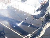横浜市西区O様邸屋根塗装前高圧洗浄