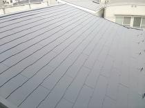 横浜市西区O様邸屋根塗装完了画像