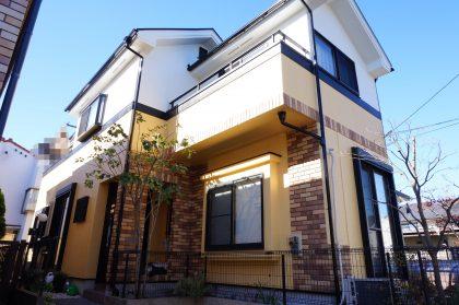 横浜市栄区S様邸施工事例|ダイヤモンドコート外壁塗装