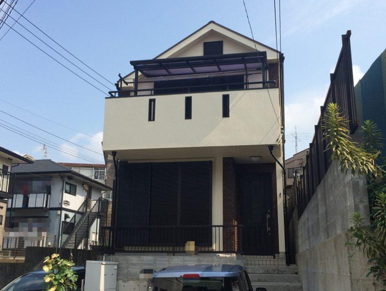 横浜市磯子区N様邸ダイヤモンドコート外壁塗装後