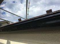 横浜市磯子区N様邸雨樋塗装完了