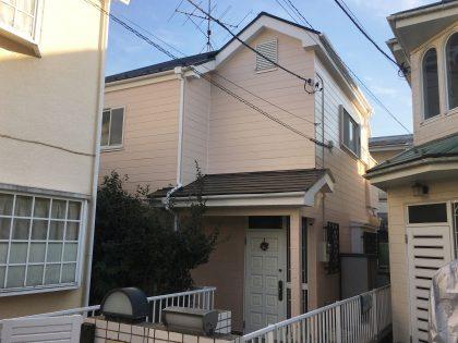 横浜市鶴見区I様邸施工事例|外壁・屋根・ベランダ防水