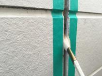 横浜市鶴見区I様邸外壁塗装前シーリング打ち替え作業