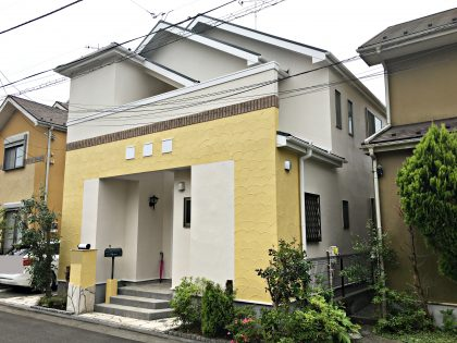 横浜市泉区S様邸 施工事例|ダイヤモンドコート外壁塗装