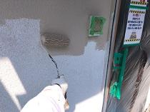 鎌倉市 リフォーム 上塗り1回目 外壁 塗り替え 横浜市