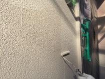 横浜市 外壁 上塗り2回目 鎌倉市 日本ペイント パーフェクトトップ リフォーム