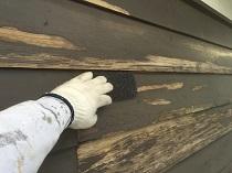 外壁 羽目板 ケレン リフォーム 塗装 横浜市 鎌倉市 戸建