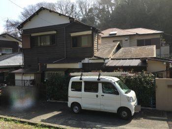 横浜市 鎌倉市 外壁 塗り替え リフォーム 施工前
