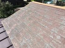 住宅塗装 施工前 屋根 リフォーム 塗装 横浜市 鎌倉市