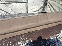 鎌倉市 屋根 棟板金 施工前 塗り替え 横浜市 リフォーム