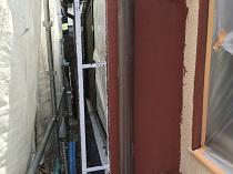 横浜市 雨樋塗装 鎌倉市 竪樋 施工前 塗り替え リフォーム