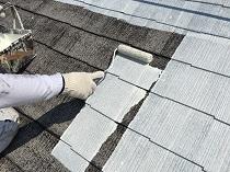 屋根 塗り替え リフォーム 下塗り1回目 鎌倉市 住宅 横浜市