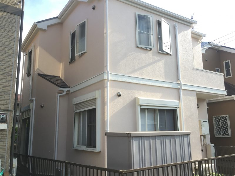 住宅塗装 外壁 高品質 ダイヤモンドコート 高耐候性 親水性 横浜市