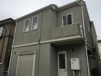 横浜市 戸塚区 外壁 塗装 リフォーム ダイヤモンドコート 施工前 カビ