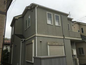 外壁塗装 カビ 施工前 横浜市 ダイヤモンドコート 戸塚区