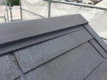 横浜市 屋根塗装 戸塚区 棟板金 塗り替え 施工前