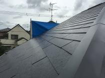 屋根塗装 棟板金 塗り替え 施工後 リフォーム 遮熱