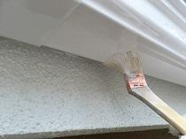 住宅塗装 付帯部 軒樋 上塗り2回目 戸塚区 横浜市 リフォーム