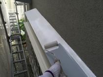 住宅塗装 霧除け 庇 横浜市 戸建 リフォーム 戸塚区