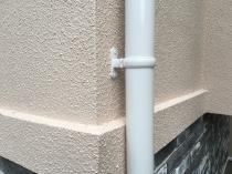 塗り替え リフォーム 竪樋 施工後 雨樋 横浜市 日本ペイント 戸塚区 フッ素