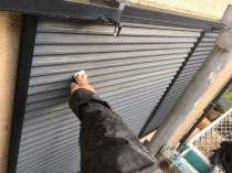 ケレン 清掃 雨戸 塗装 横浜市