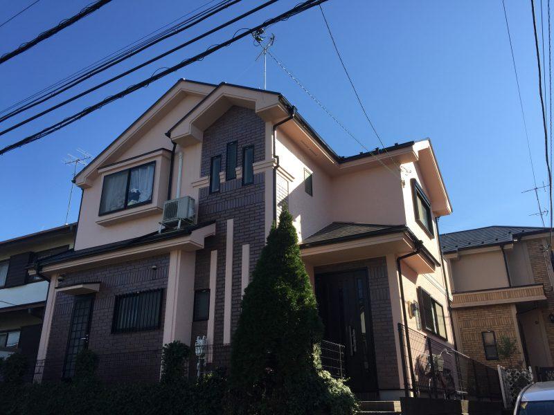 外壁塗装 戸建 リフォーム 日本ペイント アルマースSi 屋根塗装 付帯部塗装 緑区