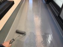 防水工事 戸建住宅 ウレタントップコート 横浜市 塗装 リフォーム 緑区