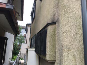 外壁 施工前 藻 汚れ カビ 横浜市 緑区