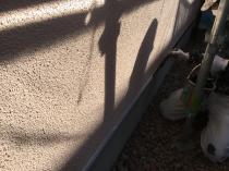 塗装 リフォーム 水切り塗装 上塗り1回目 横浜市 緑区
