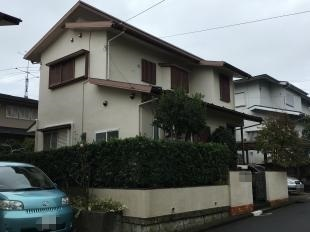 横浜市港南区T様邸外壁塗装施工前