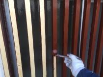 横浜市港南区T様邸住宅塗り替え作業中画像