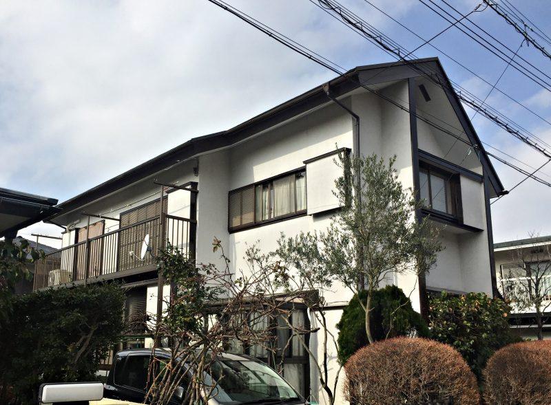 軒天 屋根 塗り替え 付帯部塗装 横浜市 港南区