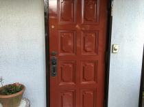 住宅塗装 横浜市 玄関 リフォーム 塗り替え 港南区 施工後