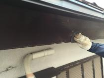 横浜市 戸建住宅 塗り替え 破風 塗装 戸建 ケレン