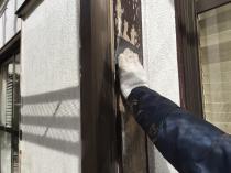 塗り替え 横浜市 ケレン 木枠 港南区