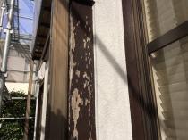 横浜市 港南区 塗り替え 木枠塗装 施工前