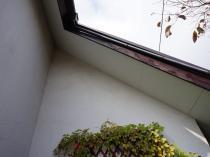付帯部塗装 軒天 日本ペイント 横浜市 施工前