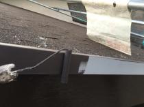 横浜市 港南区 屋根 付帯部 塗り替え 上塗り1回目