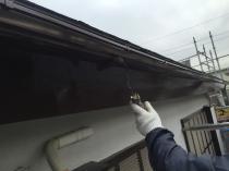 塗替え リフォーム 付帯部 軒樋 上塗り2回目 横浜市 港南区