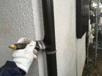 横浜市 港南区 竪樋 付帯部 塗装 清掃 リフォーム 住宅