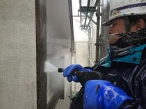 横浜市 港南区 戸建 リフォーム 付帯部 高圧洗浄