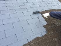 屋根 塗り替え 横浜市 港南区 栄区 下塗り 水性シリコン